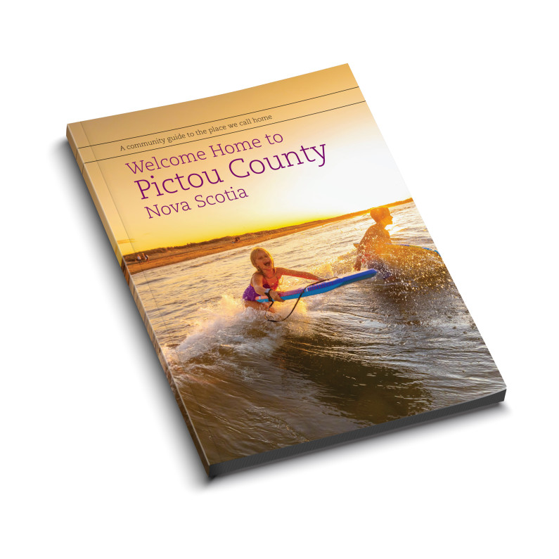Welcome Home to Pictou Coutny NS Cover Mockup 1